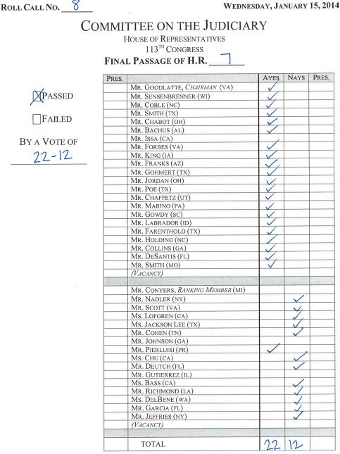 HR7-RollCall8-JudiciaryCmtee
