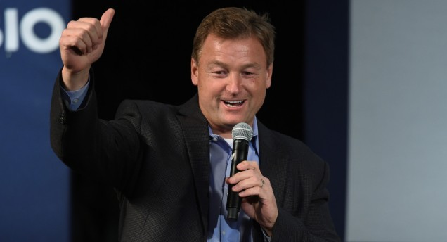 """I like what I do, so I'll consider it but I like what I do,"" Sen. Dean Heller said. 